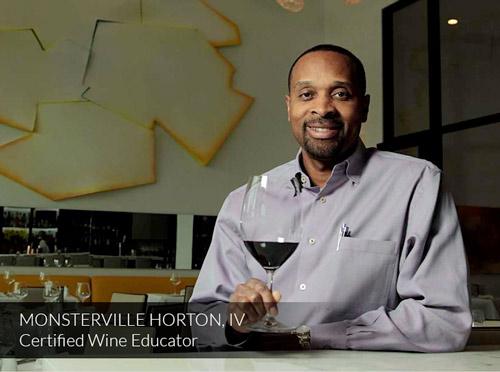 Monsterville Horton, IV - Certified Wine Educator